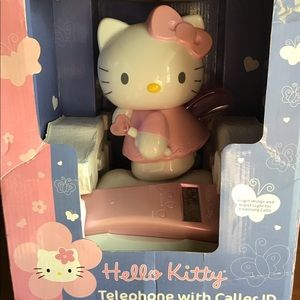 Hello kitty telephone with caller ID